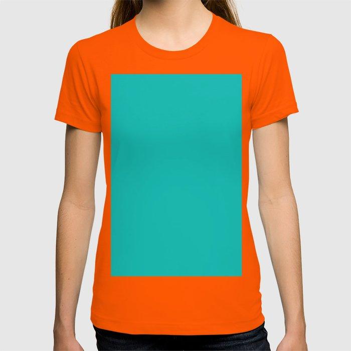 6f8192883718 Tiffany Blue T-shirt by listofcolors