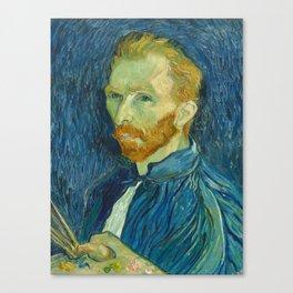 Vincent van Gogh - Self Portrait Canvas Print