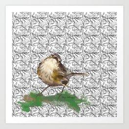 Mossie Art Print
