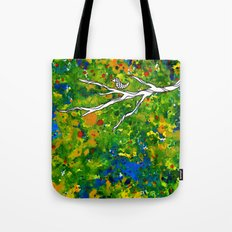 Bird out the Bush Tote Bag