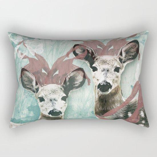 majestic fawn Rectangular Pillow