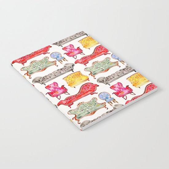 Victorian Lounge – Rainbow Palette Notebook