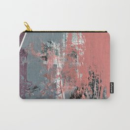 Silk: a colorful, vibrant abstract mixed media piece Carry-All Pouch