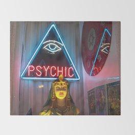 PSYCHIC Throw Blanket