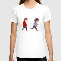 stiles stilinski T-shirts featuring Stiles & Scott by MaliceZ