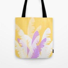 The Pale Banana Tree Tote Bag