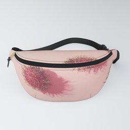 01_#Rambutan#tropical#fruits#in pink Fanny Pack