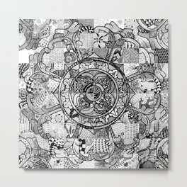 Tibetan Crest Metal Print