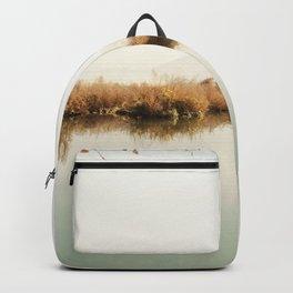 Autumn Lake Scene Backpack
