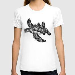 Sea Turtle City T-shirt