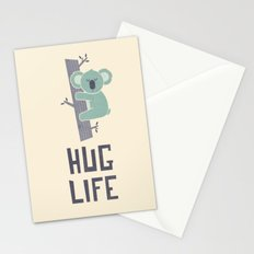 Hug Life Stationery Cards
