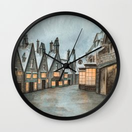 Hogsmeade - Magic Inside Us Wall Clock