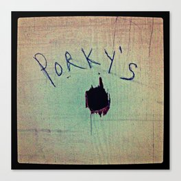 Porky's Canvas Print