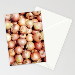 Onions, Onions, Onions! Stationery Cards
