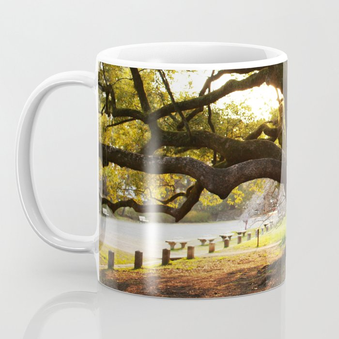 Sunset in the Palace Gardens Coffee Mug