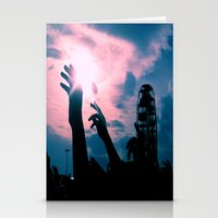 concert Stationery Cards featuring Concert by Leah Galant