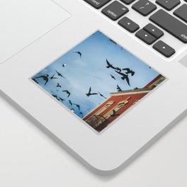 Birds in flight Sticker