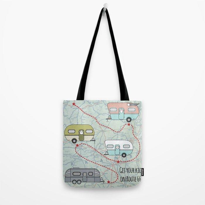 Get Your Kicks Tote Bag