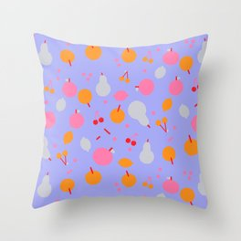 Fruity! II Throw Pillow