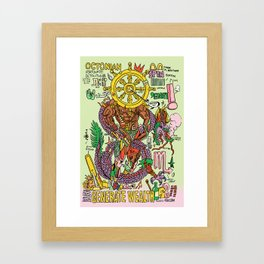 Magic 8 Framed Art Print