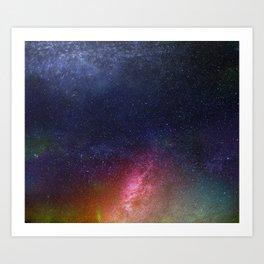 Galaxy XII Art Print