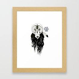 We Are The Weirdos Mister Framed Art Print