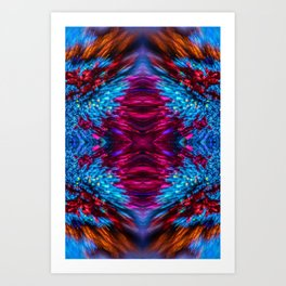 Shimmering Winter Magic Art Print