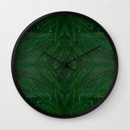 Morning Dew (Pine Needle Pattern) Wall Clock