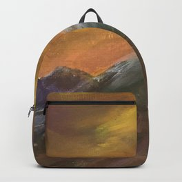 Sunset Mountains Backpack