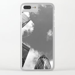City of London Skyscrapers Clear iPhone Case