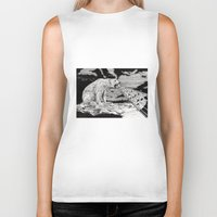 polar bear Biker Tanks featuring Polar Bear by Meredith Mackworth-Praed