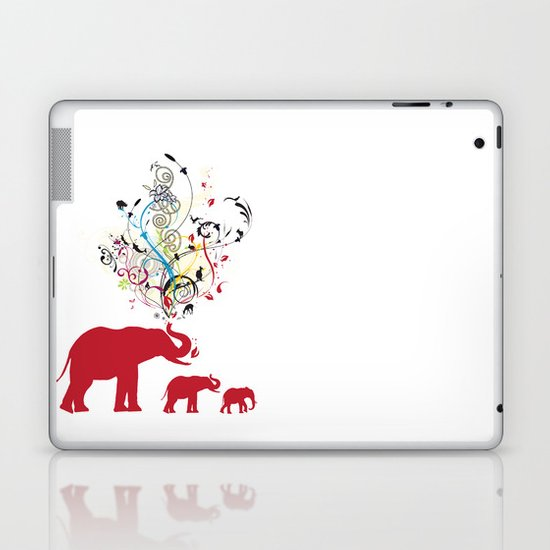 Me and my friends Laptop & iPad Skin