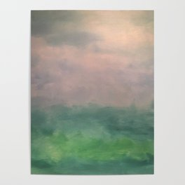 Valley of Dreams - Abstract nature Poster