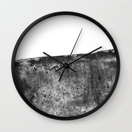 The Margaret / Charcoal + Water Wall Clock