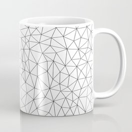 Low Pol Mesh (positive) Coffee Mug