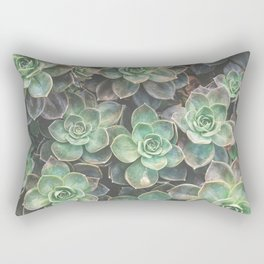 Succulents 2 Rectangular Pillow