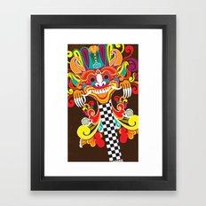 Barong Pop Art Framed Art Print