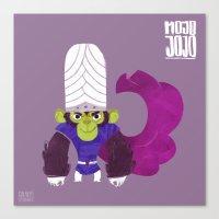 jojo Canvas Prints featuring Mojo Jojo by Galaxyspeaking