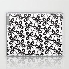 Quirky Black & White Laptop & iPad Skin