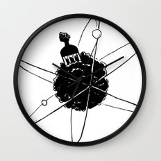 Frotoon Afro-Nucleus Wall Clock