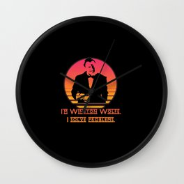 Winston Wolfe. I solve problems Wall Clock