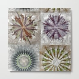 Tetramethylammonium In The Altogether Flower  ID:16165-130225-89480 Metal Print