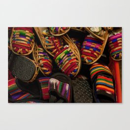 Pies coloridos Canvas Print