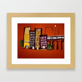 City Rhythms Framed Art Print