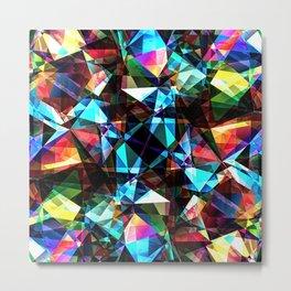 Geometric Spectrum Metal Print