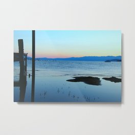 Blues at Sunrise - South Lake Tahoe, California Metal Print