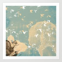 Flybirt Art Print
