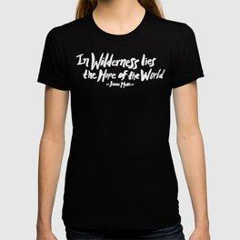 Wilderness Hope x John Muir T-shirt