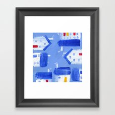 Wee Hooses Framed Art Print
