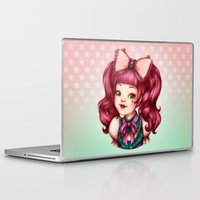 lolita Laptop & iPad Skins featuring Sweet Lolita by Christine Alcouffe